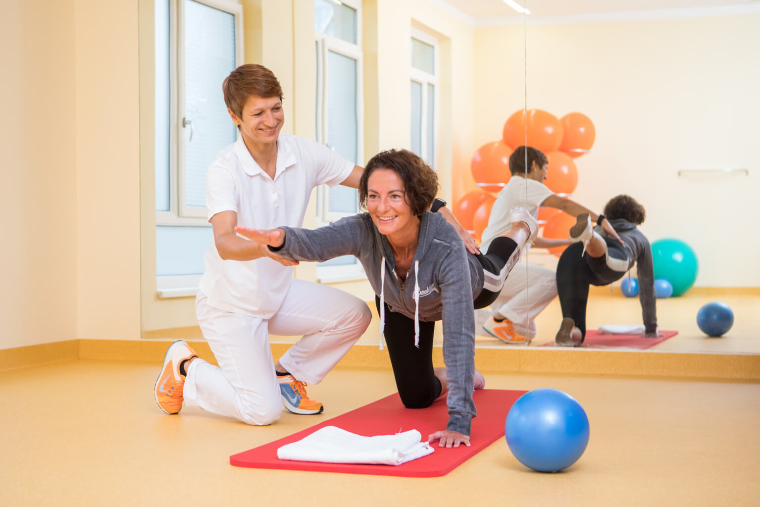 OptimaMed Bad Wimsbach Physiotherapie