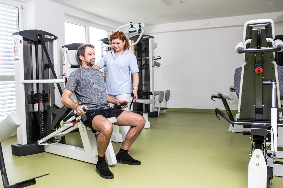 OptimaMed Physiaklisches Institut Kittsee_Fitnessgeräte
