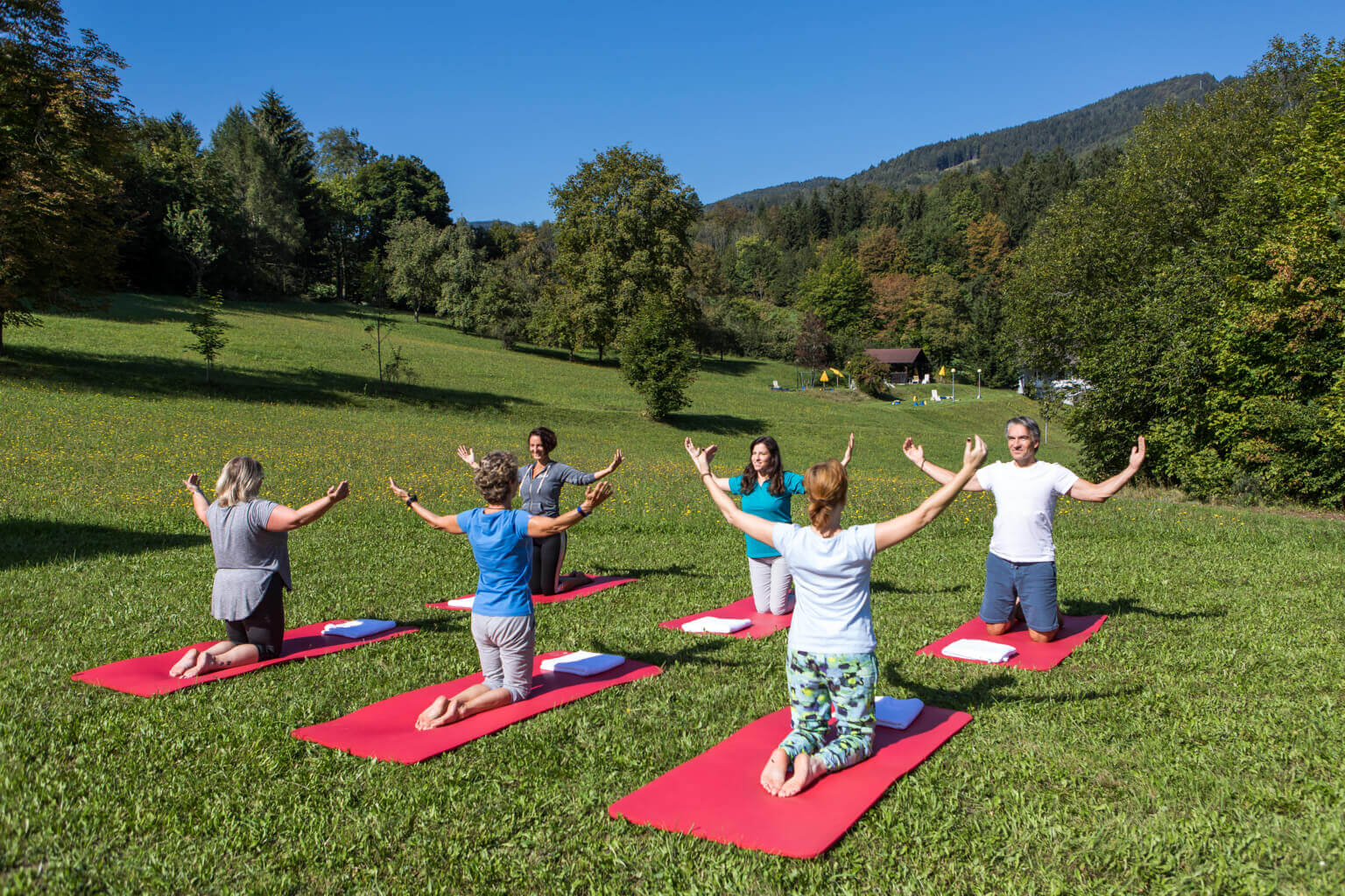 OptimaMed Salzerbad Yoga