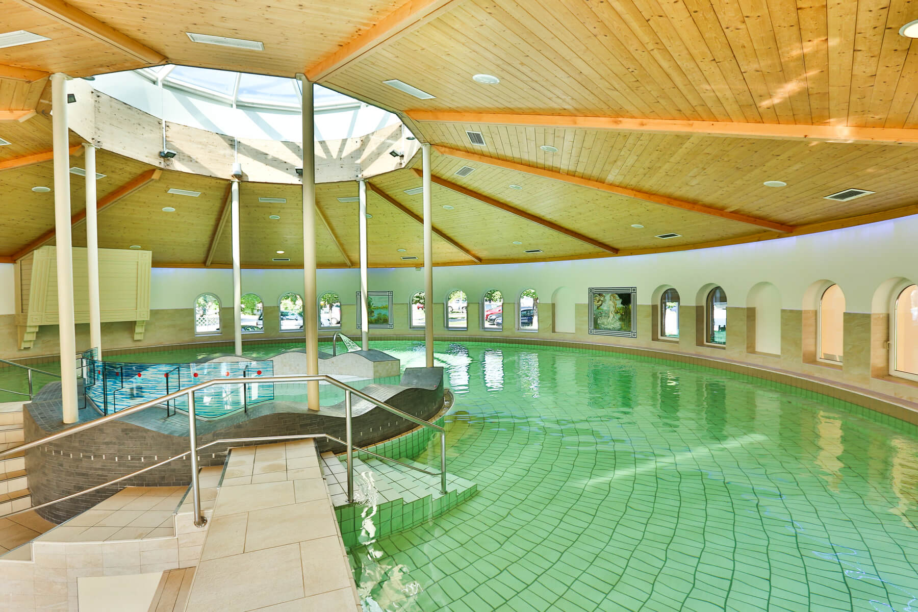 Rehabilitation Bad Wimsbach Hallenbad